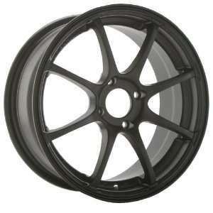 Konig Feather 17x7 Honda Acura Toyota Wheels Rims Matte Black Lip 4pc