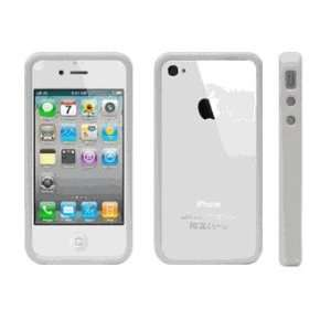 White Bumper Soft Tpu Skin Gel Cover Case for Apple Iphone
