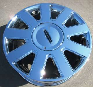 NEW 17 FACTORY LINCOLN TOWNCAR LIMO OEM CHROME WHEEL RIM   1 SINGLE