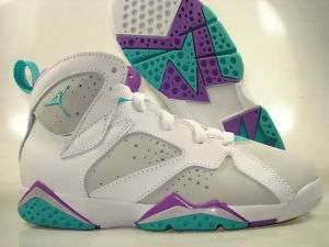Air Jordan Retro 7 Mineral 442961 001 Girls Kids