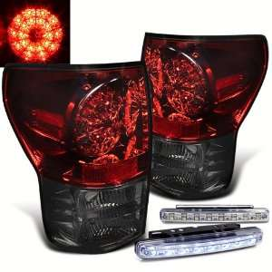 Eautolight 07 11 Toyota Tundra LED Tail Lights + LED Bumper Fog Lamp