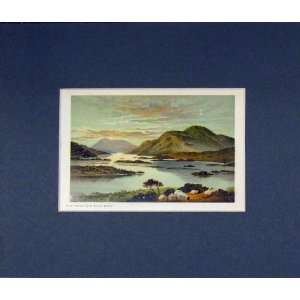 View Loch Lomond Mount Misery 1870 Chromo Litho Print