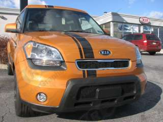 2010 Kia Soul offset rally racing stripe decal decals
