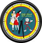 Reddy Kilowatt Electrician Tool Service Sign Wall Clock