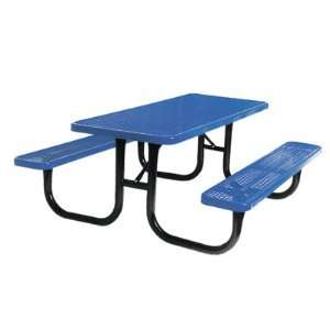 Ultra Play 6 Foot Heavy Duty Picnic Table Patio, Lawn