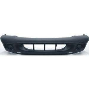 01 04 DODGE DAKOTA FRONT BUMPER COVER TRUCK, W/O F.L. Holes, Upper Txt