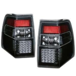 2007 2009 Ford Expedition KS LED Black Tail Lights