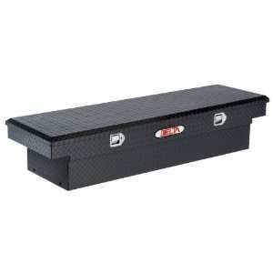 Black Full Size Aluminum Single Lid Crossover Truck Box Automotive