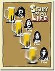 SOML Story of my Life Beer Goggles Funny Humor Tin Metal Sign NEW