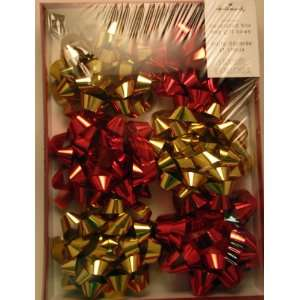 XBW 7 Gold and Red Deluxe Gift Box Gift Bows