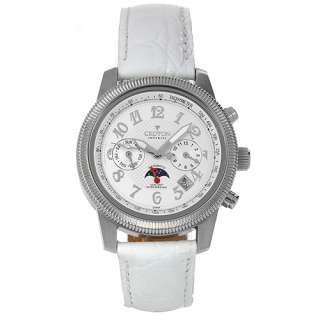 Croton c1331046wsdw Mens Day Date Watch Retail $700