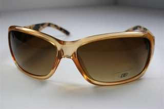 WOMENS DG EYEWEAR FASHION SUNGLASSES PEACH LEOPARD 6347