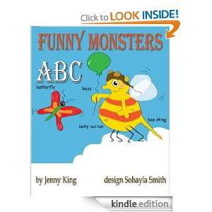 Funny Monsters ABC (Child Fun) Jenny King  Kindle Store