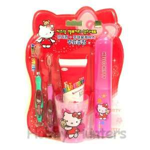 Toothbrush Set   Hello Kitty   Set of 5 items
