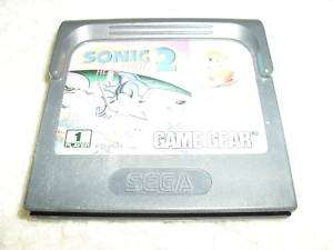 SONIC THE HEDGEHOG 2 & TAILS SEGA GAME GEAR GAME NRMT 4974365133382