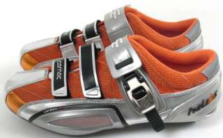 CARNAC HELIOS CARBON SOLE ROAD CYCLING SHOES ORANGE SIL