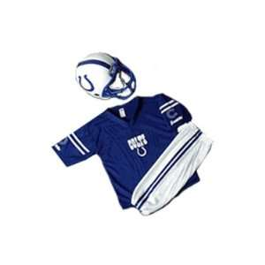 INDIANAPOLIS COLTS YOUTH NFL TEAM HELMET AND UNIFORM SET
