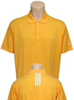 Adidas Golf ClimaLite Solid Textured Polo Shirt, Mens Small   2XL