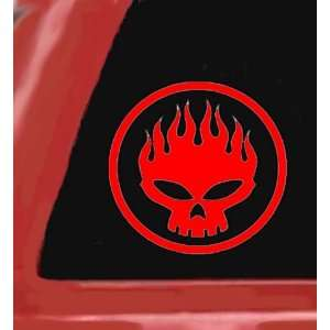 RED 5 Vinyl STICKER/DECAL for Cars,Trucks,Trailers,Etc. Automotive