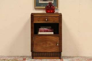 Art Deco Bedside Table or Nightstand