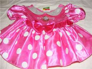 Pink Minnie Mouse Costume Baby 18 Months