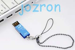 PQI i812 USB Flash Pen Drive Stick Disk 4G 4GB Blue New