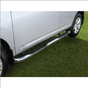 Black Horse Stainless Steel Nerf Bars 08 11 Nissan Rogue Automotive