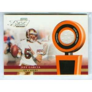 Football Piece of the Game Worn Jersey Card #POG 25 / San Francisco