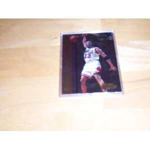 Best Techniques insert #T2 Chicago Bulls basketball trading card