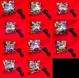 Beyblade Metal Fusion Fight 4D Starter Set *Each set include NEW