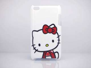Cute Hello Kitty Hard Shell Case Cover for ipod touch 4th 4 Generation