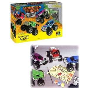 Creativity for Kids Monster Trucks Custom Shop Toys & Games