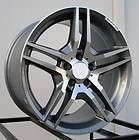Style Staggered Wheels Rims Fit Mercedes E350 Cabriolet 2010   2012