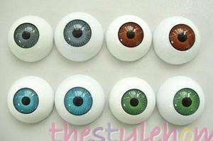 Half Round eye Eyeballs for mask skull Halloween Prop