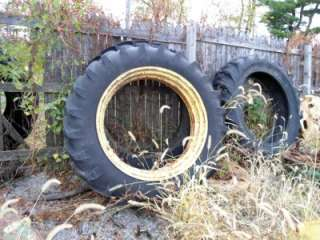 John Deere A G Farmall M H 13.6 38 Rear Tire and rim