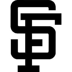 San Francisco Giants MLB Vinyl Decal Sticker / 8 x 5.7