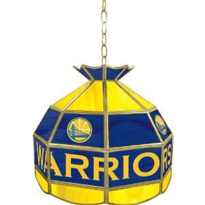 Golden State Warriors NBA 16 inch Tiffany Style Lamp   Game Room