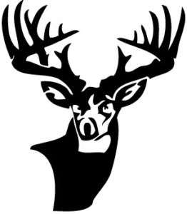 Buck Whitetail Hunting Vinyl Decal / Sticker Car Truck