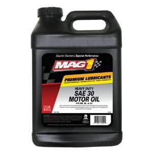 Mag 1 402 SAE 30 SN Heavy Duty Motor Oil   2.5 Gallon