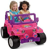 Power Wheels Fisher Price Barbie Jammin Jeep   Power Wheels   Toys