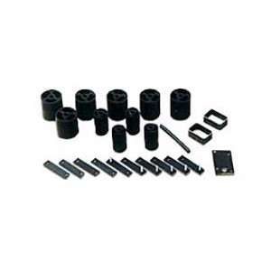 Body Lift Kit, Height 1 Inch Polyurethane, Skyjacker 1997 2006 Jeep