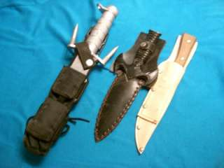 HUNTING SKINNING BIG GAME SURVIVAL BOWIE KNIVES KNIFE COLLECTION