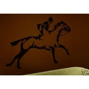 Horse Riding Steeplechase Wall Art Vinyl Decal