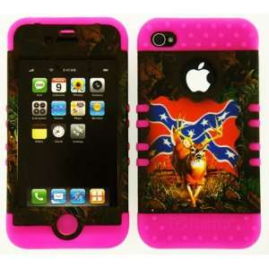 VERIZON/AT&T/SPRINT REBEL CAMO IN PINK CASE Cell Phones & Accessories