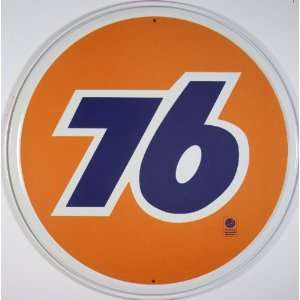 Nostalgic Oil & Gas Tin Metal Sign  Union 76 Gasoline