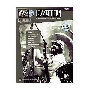 Ultimate Drum Play Along Led Zeppelin, Volume 1 Musical Instruments