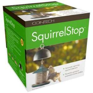 SquirrelStop Automatic Spinning Squirrel Deterrent by