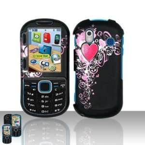 with Pink Vine Gothic Heart Rubber Texture Samsung Intensity 2 II