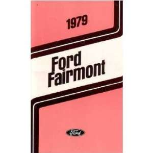 1979 FORD FAIRMONT Owners Manual User Guide Automotive