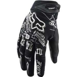 2011 Fox Racing Platinum Steel Faith Glove   Black   12